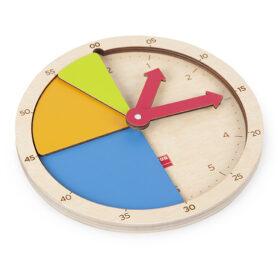 Construimos la hora, reloj Akros