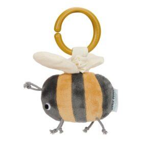 abeja que vibra al tirar de ella