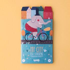 My-city stickers pegatinas reutilizables