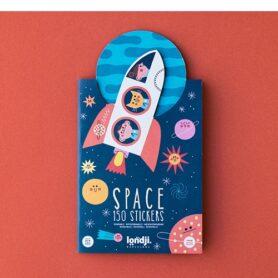 Space stickers pegatinas