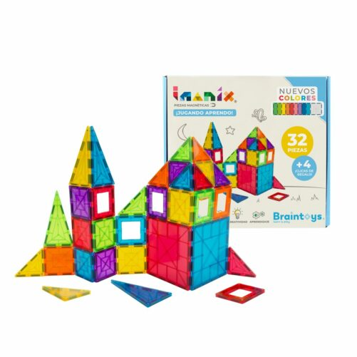 Imanix 32 piezas, Braintoys
