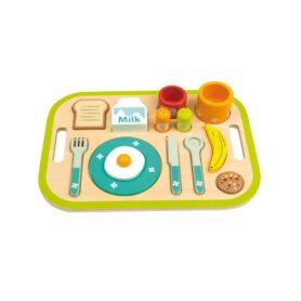 Bandeja desayuno de madera